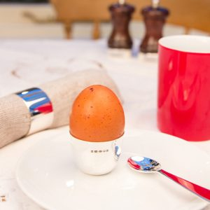 Silver Egg Cup & Napkin Ring