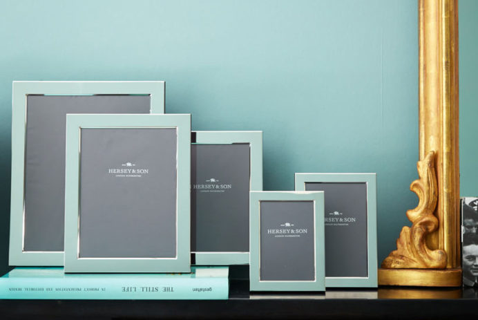 Sterling silver photo frames | Hersey & Son